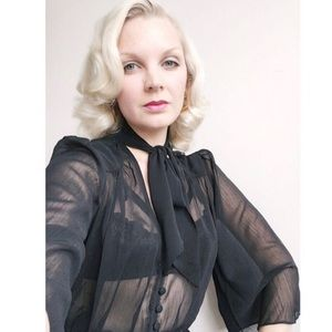 ASOS Tops - Sheer blouse